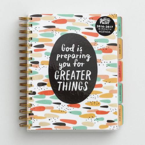 illustrated faith planner