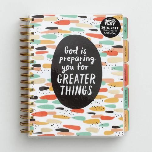 illustrated faith planner