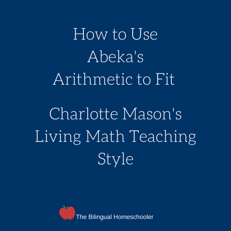 How to Use Abeka's Arithmetic