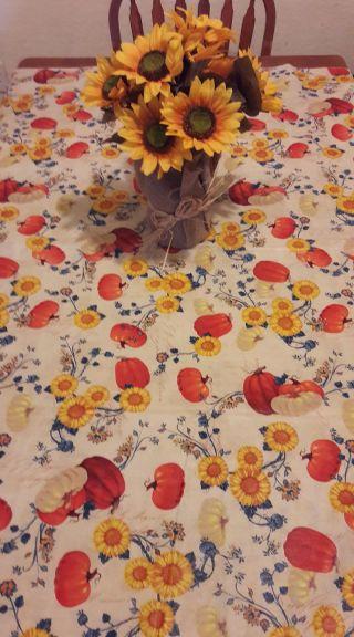 Pumpkin Table Fall Decor Life Giving Table