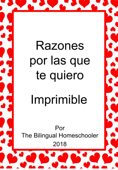 RazonesPorLasQueTeQuiero