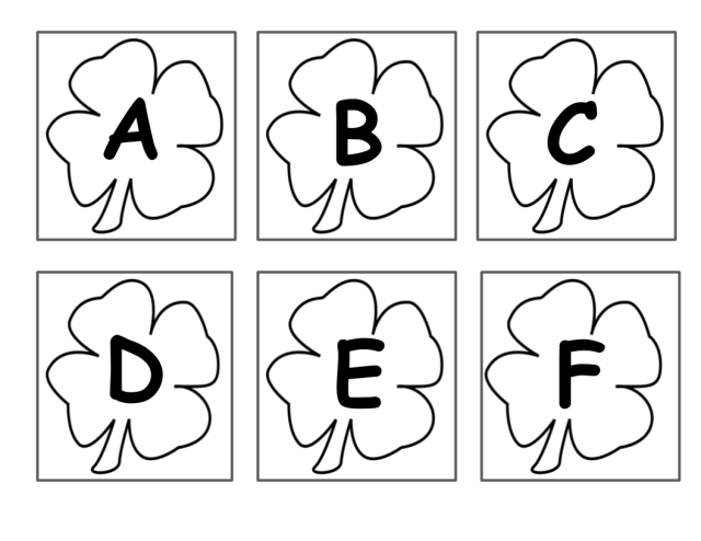 FreeSpanishEnglishCloverAlphabet
