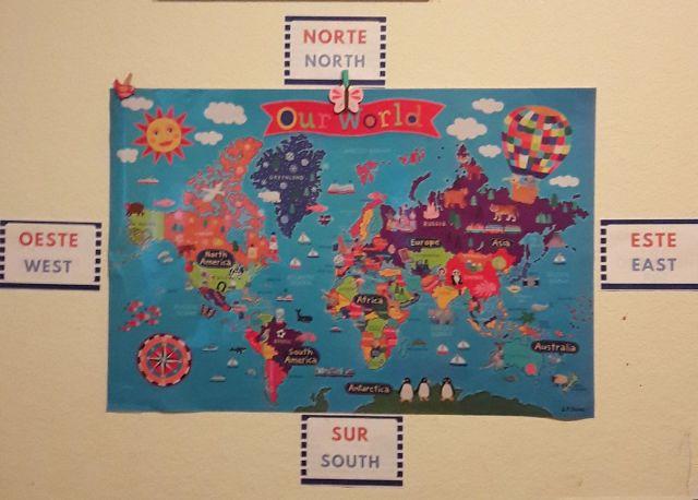 Geography Homeschool Bilingual English Spanish