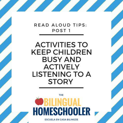 Tips to Keep Children Busy and Listening to a Story - Read Aloud Time