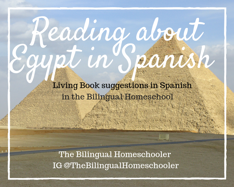 Reading about Egypt in Spanish